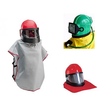 CLEMCO blaster helmets