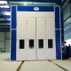 Pressurized spray booth in Russia
