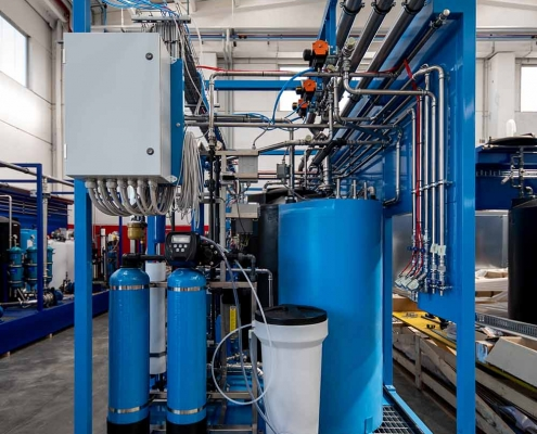 Water filtration system- Germany