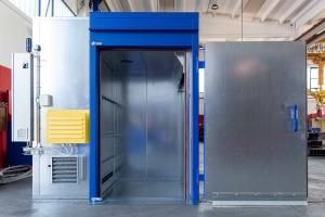 Monobloc electric oven
