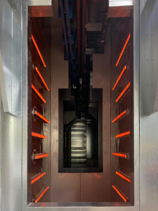 IR Curing oven