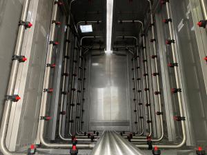 Washing tunnel - Inside