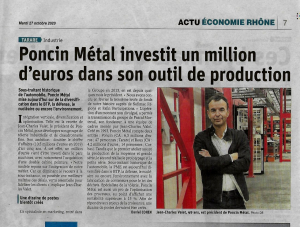 Article Poncin Metal