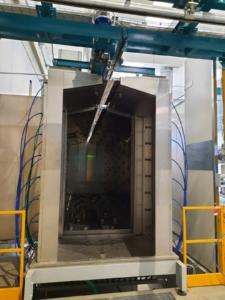 Washing tunnel
