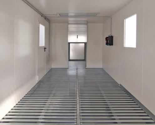 Eurotherm cabine di stoccaggio e preparazione vernici